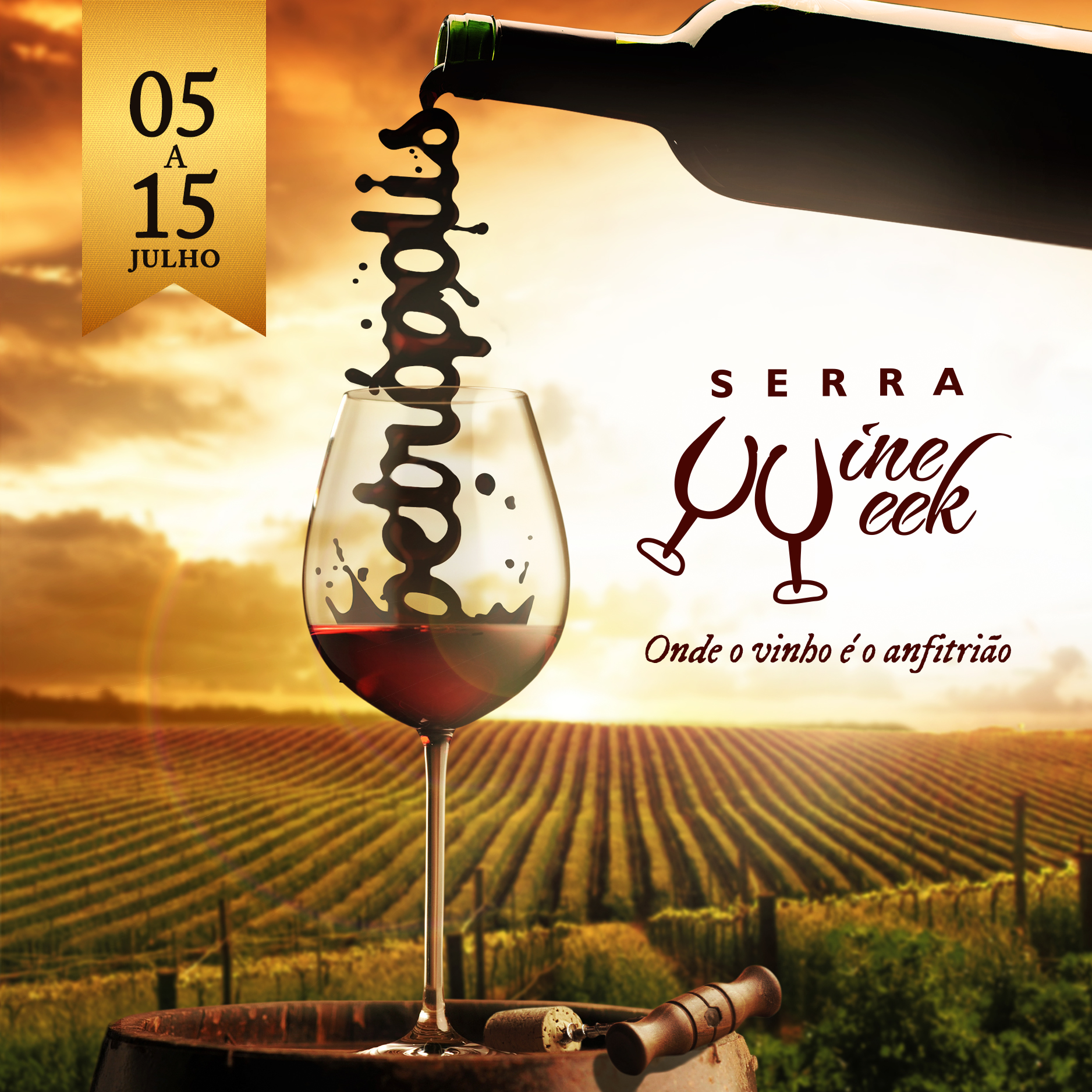 lançamento Serra Wine Week